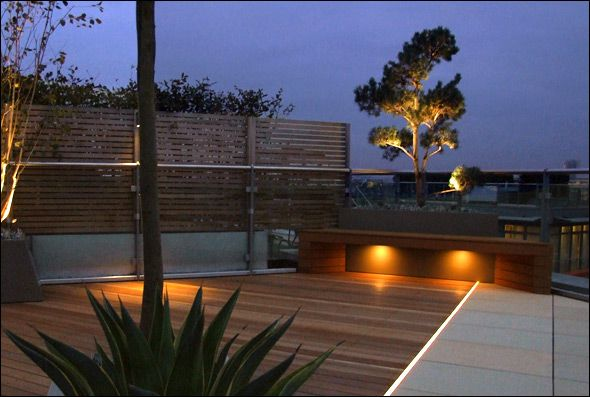 contemporary solutions for your garden roof terraces