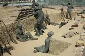 Image result for gallipoli trenches