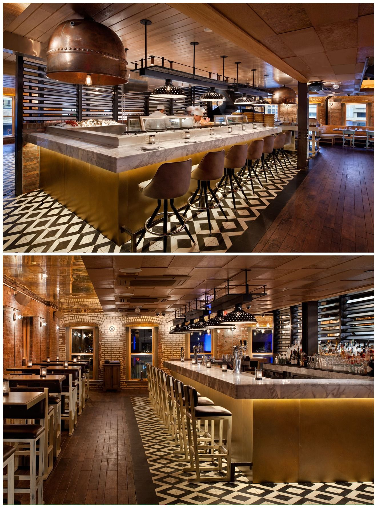 catch restaurant interior design designed by icrave