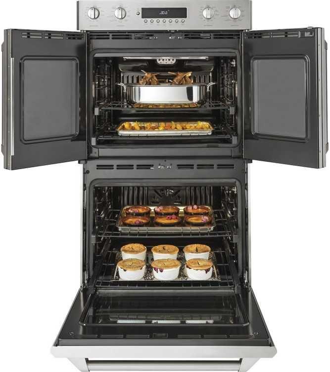 ge monogram 30 professional double wall oven zet2flss ...