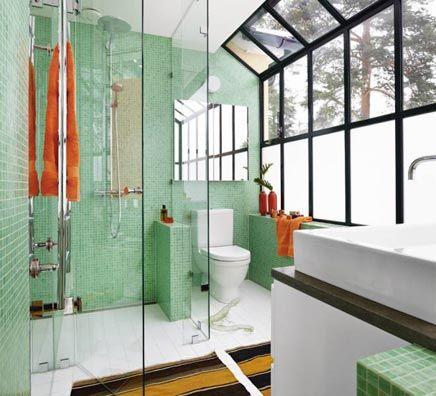 Badkamer tegels groen google zoeken groen pinterest badkamer tegels en groen - Klassieke chique decoratie ...