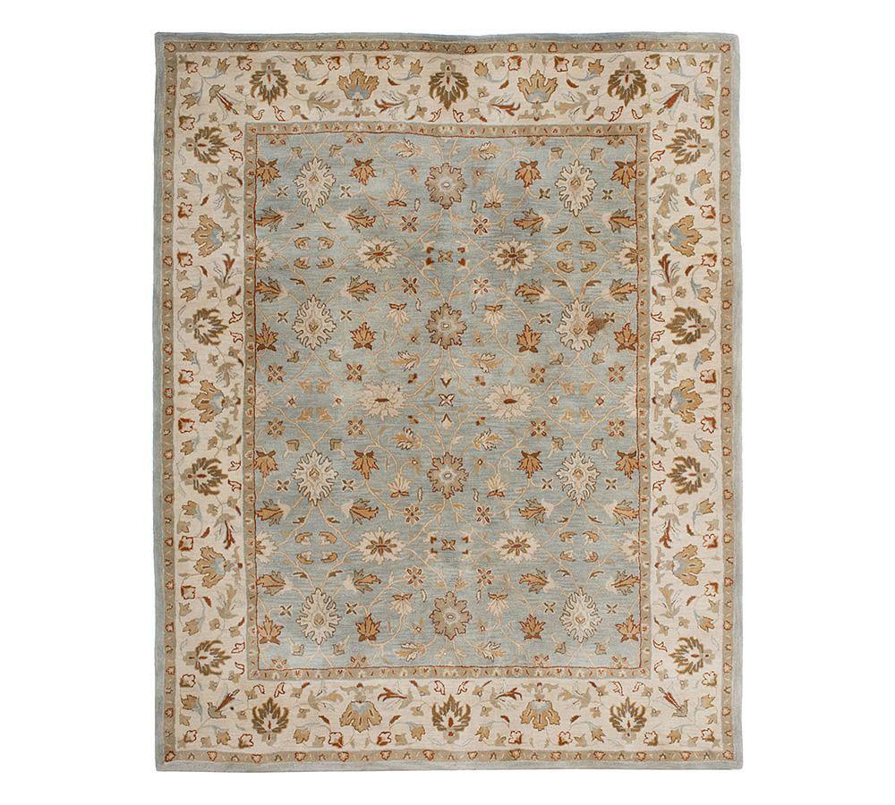 Malika Persian Style Rug Rugs On Carpet Handmade Rugs