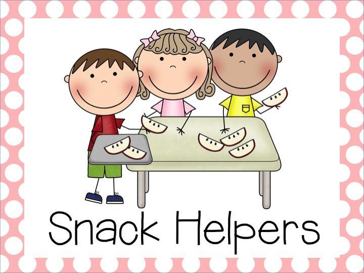 Snack Helper Job Classroom Jobs Classroom Helpers Helper Jobs Teacher Helper