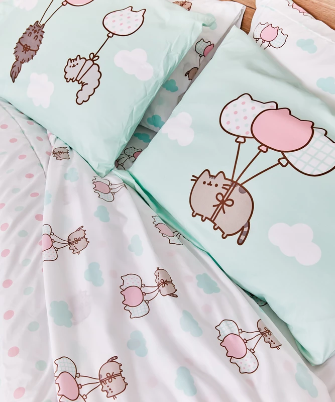 BOUGHT Pusheen Full/Queen Sheet Set Pusheen Shop