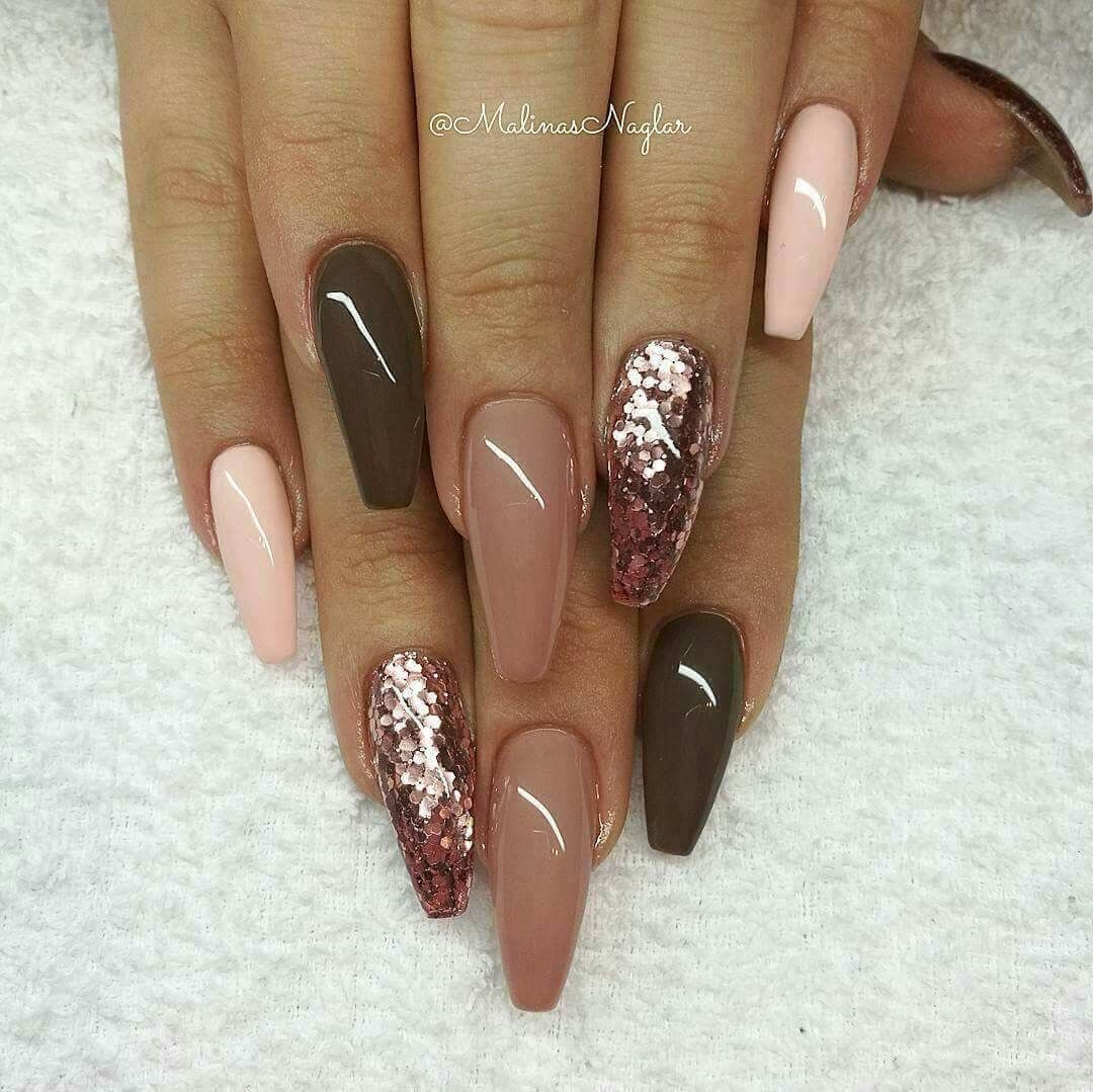50 Stunning Acrylic Nail Ideas To Express Your Personality November Nails Nail Designs Gorgeous Nails