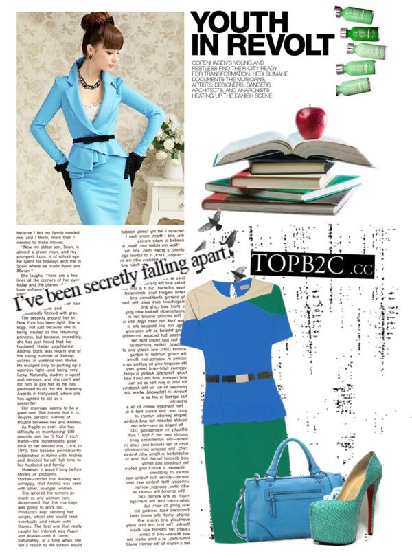 """""""Hit color fashion-topb2c"""" by violet-w-miller ❤ liked on Polyvore"""