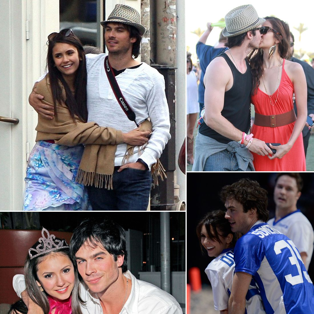 how long has nina dobrev and ian been dating