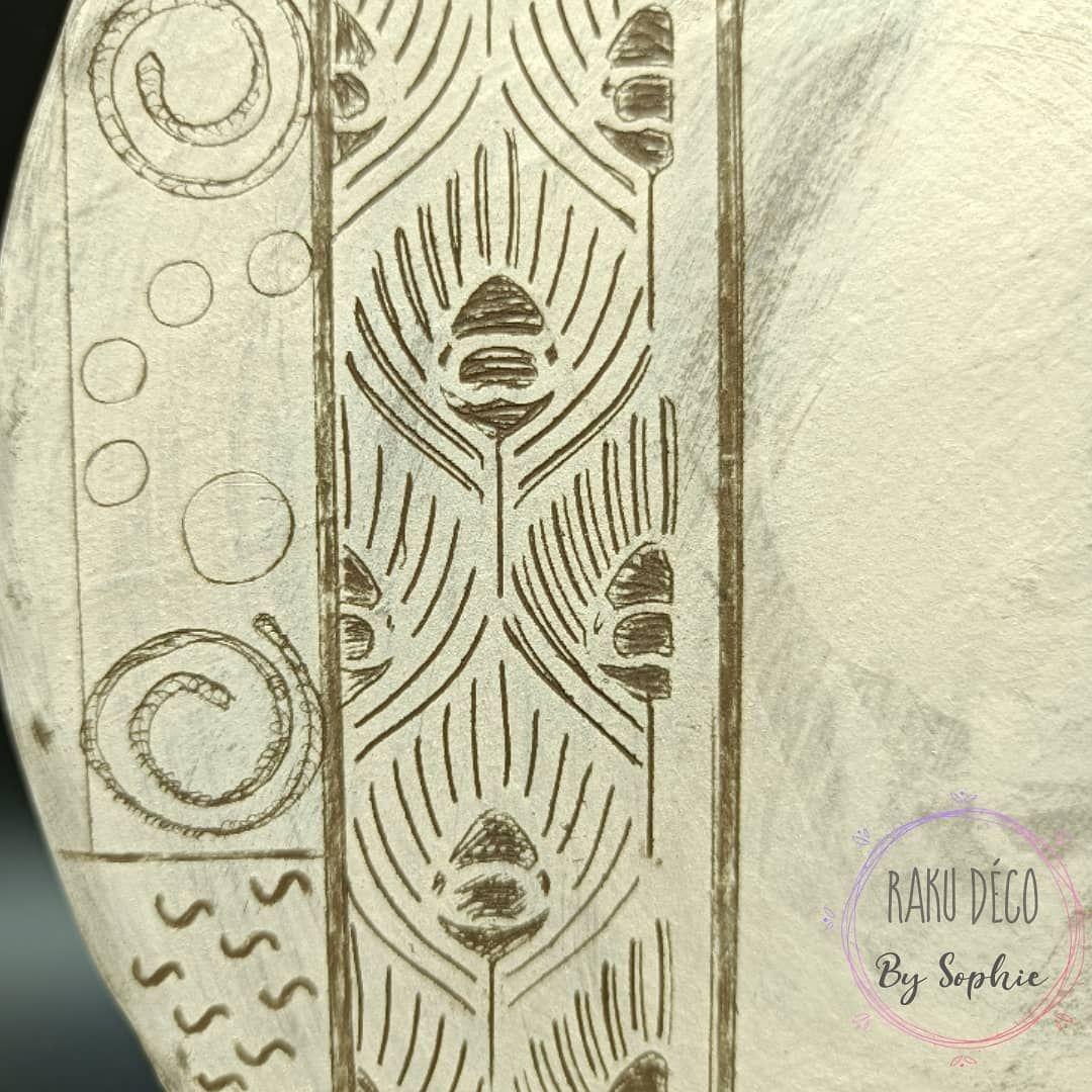 ceramique carpe koi decoration interieure