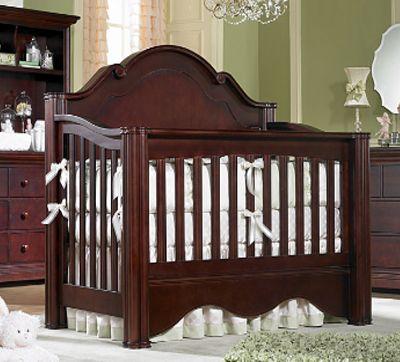 Enchanted Convertible Crib In Vanilla Charlotte