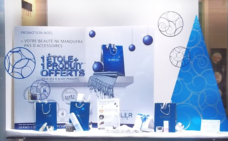 Vitrine Simone Malher - (44 magasins ) Etudes créative et technique / Fabrication / Logistique / Transport par Arton design