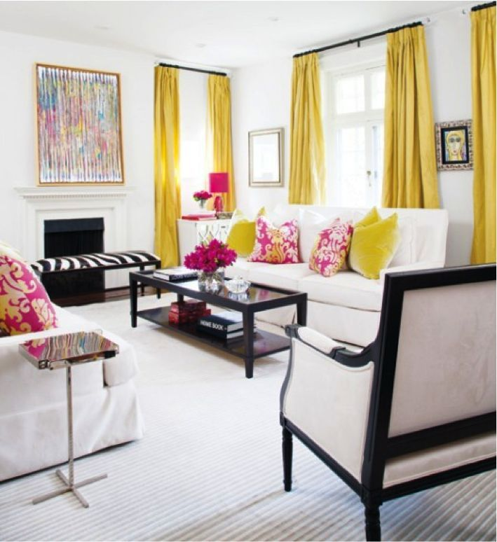 Bold And Bright Colors  Interior Design Los Angeles  Home New Living Room Colors And Designs Design Ideas