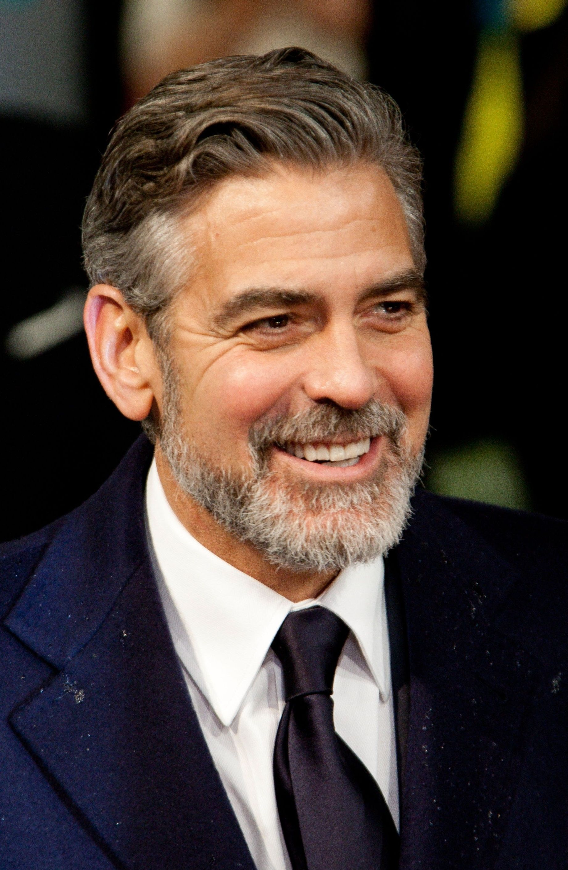Image result for george clooney beard