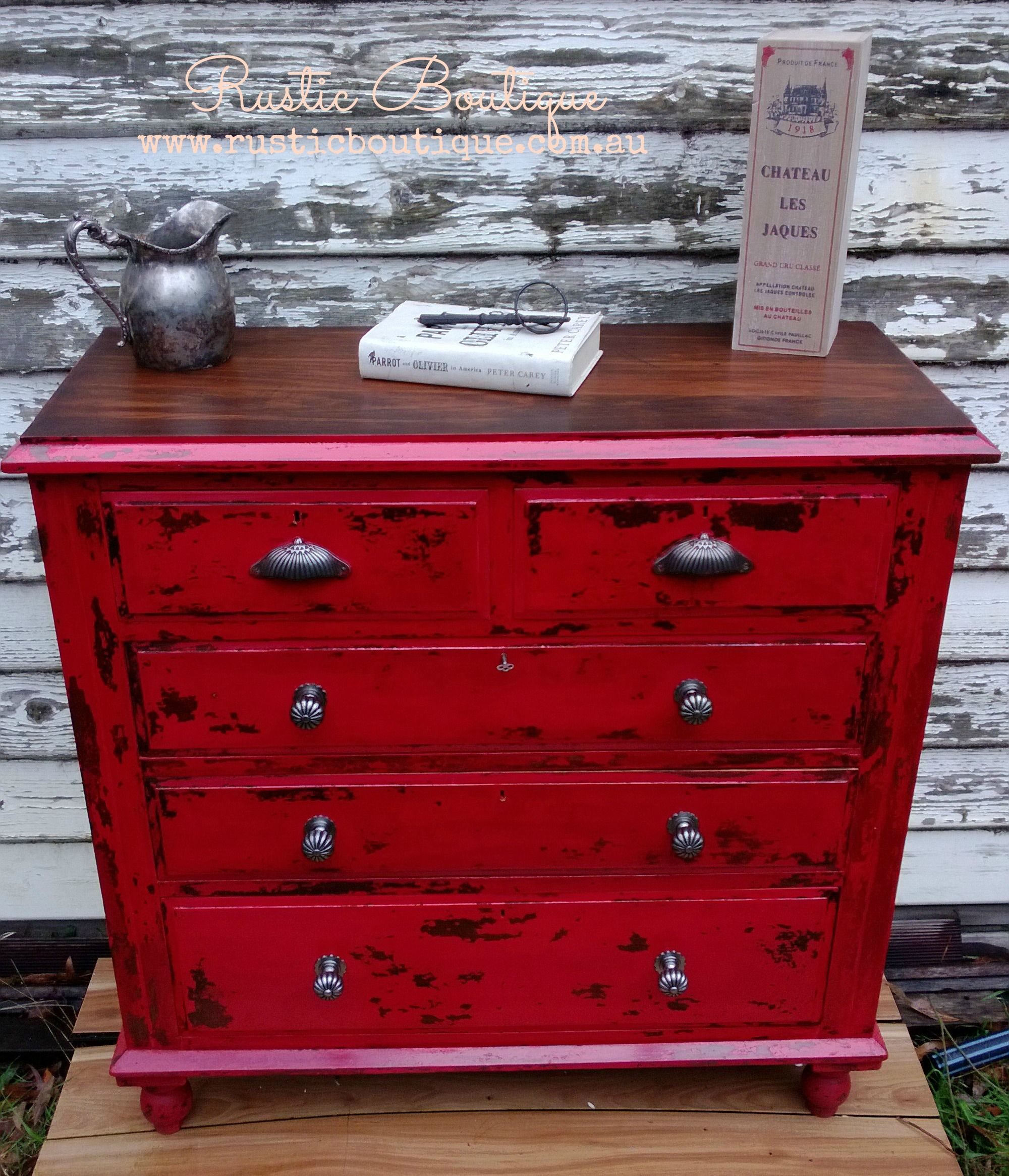 chest furniture iii drawers chests of mahogany drawer shop red geo