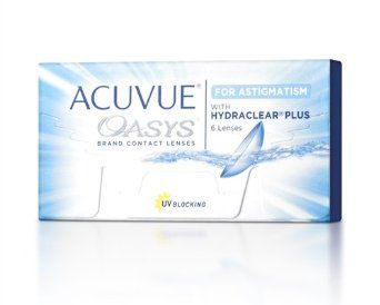 Acuvue Oasys For Astigmatism Contact Lenses 6 Lenses Box 1 Box