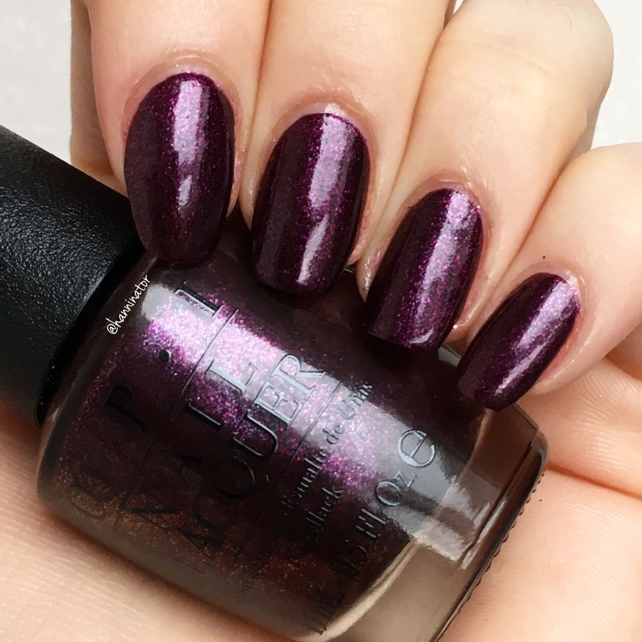 Rich Amp Brazilian Opi Breakfast At Tiffany S Collection Solid Color Nails Nails Nail Colors