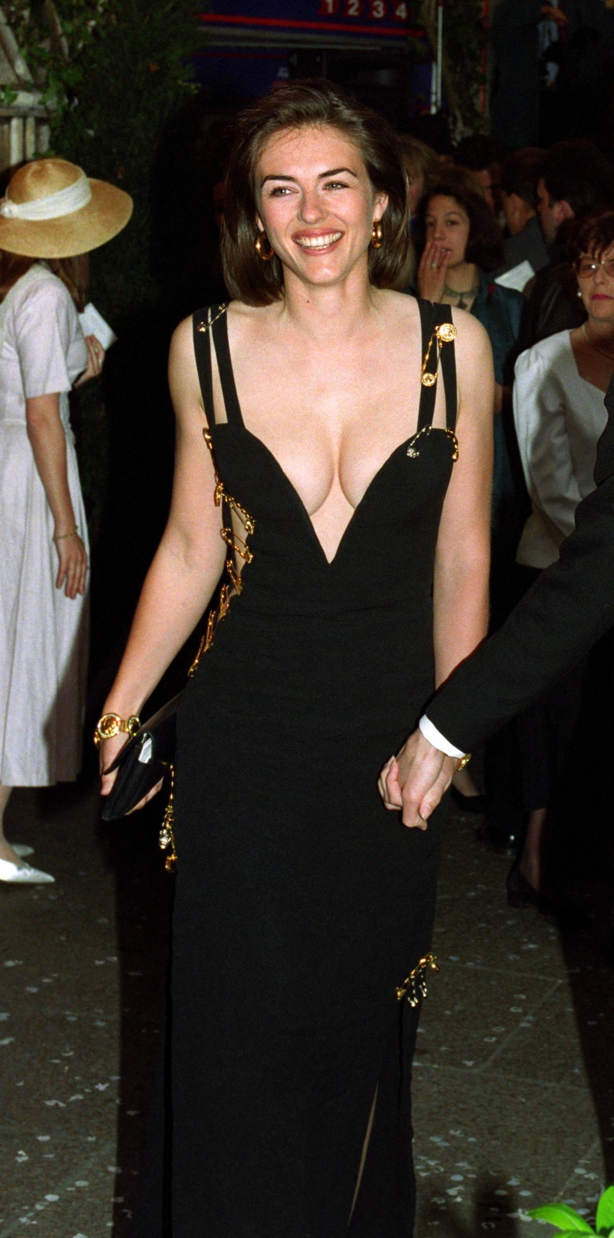 Elizabeth Hurley Hurley Dress Liz Hurley Dress Elizabeth Hurley