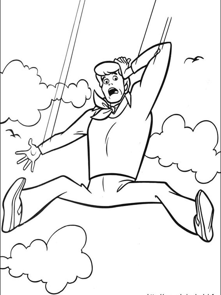 Scooby Doo And Scrappy Doo Coloring Pages Following This Is Our Collection Of Scooby Doo Coloring Cartoon Coloring Pages Scooby Doo Coloring Pages Scrappy Doo