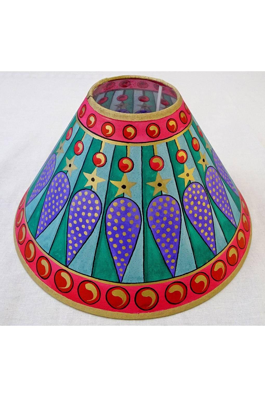 Cressida Bell Paints Wall Lamp Shades Painting Lamp Shades Old Lamp Shades