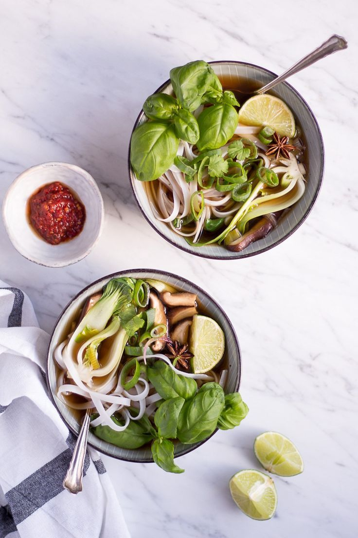 Vegetarische Pho - Heavenlynn Healthy