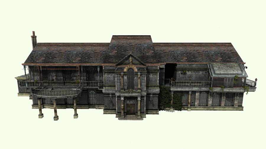Resident Evil Umbrella Chrnicles Subway Map 3d Model.Spencer Mansion Texturized By Alexslevin On Deviantart Video