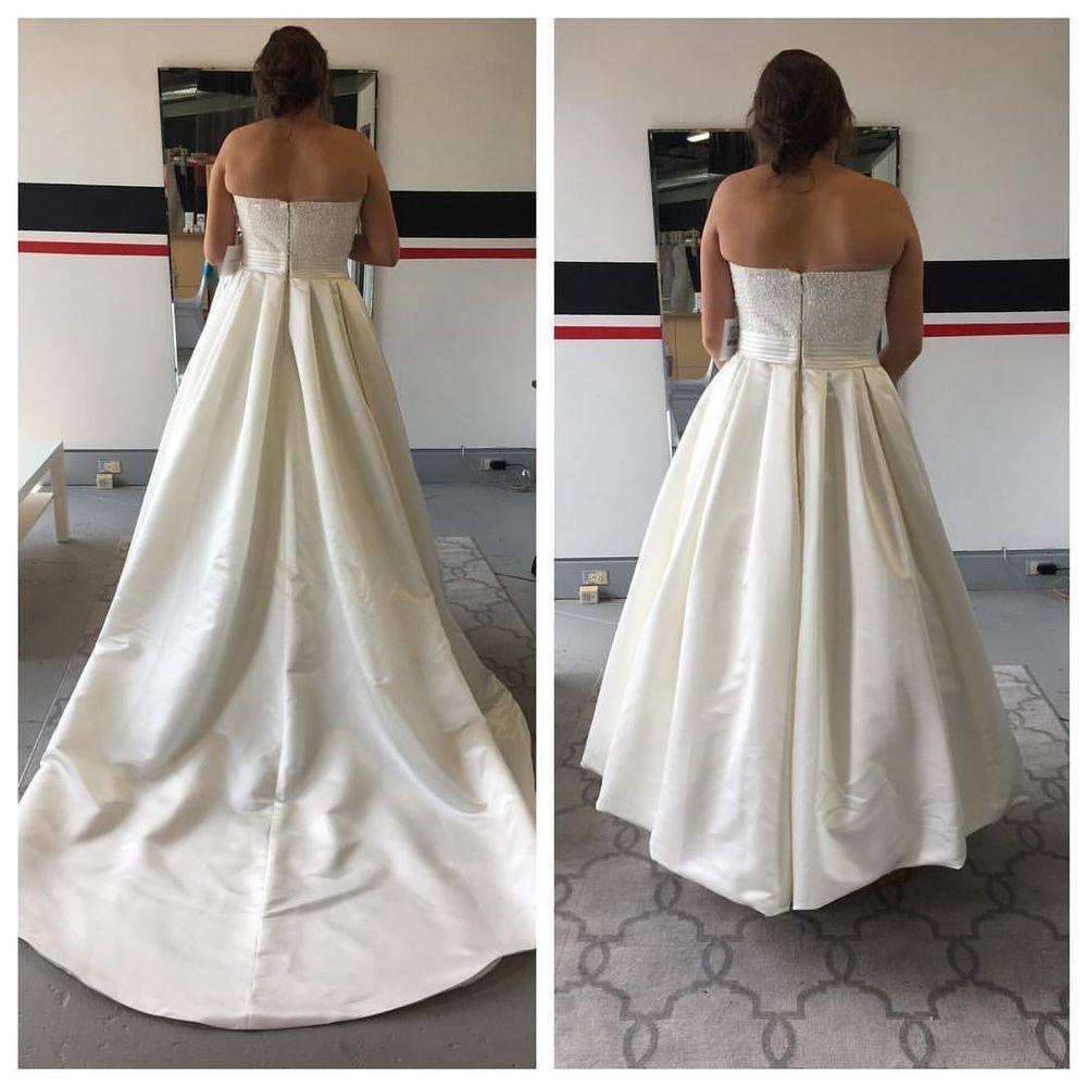 ballroom bustle Google Search Diy wedding dress bustle