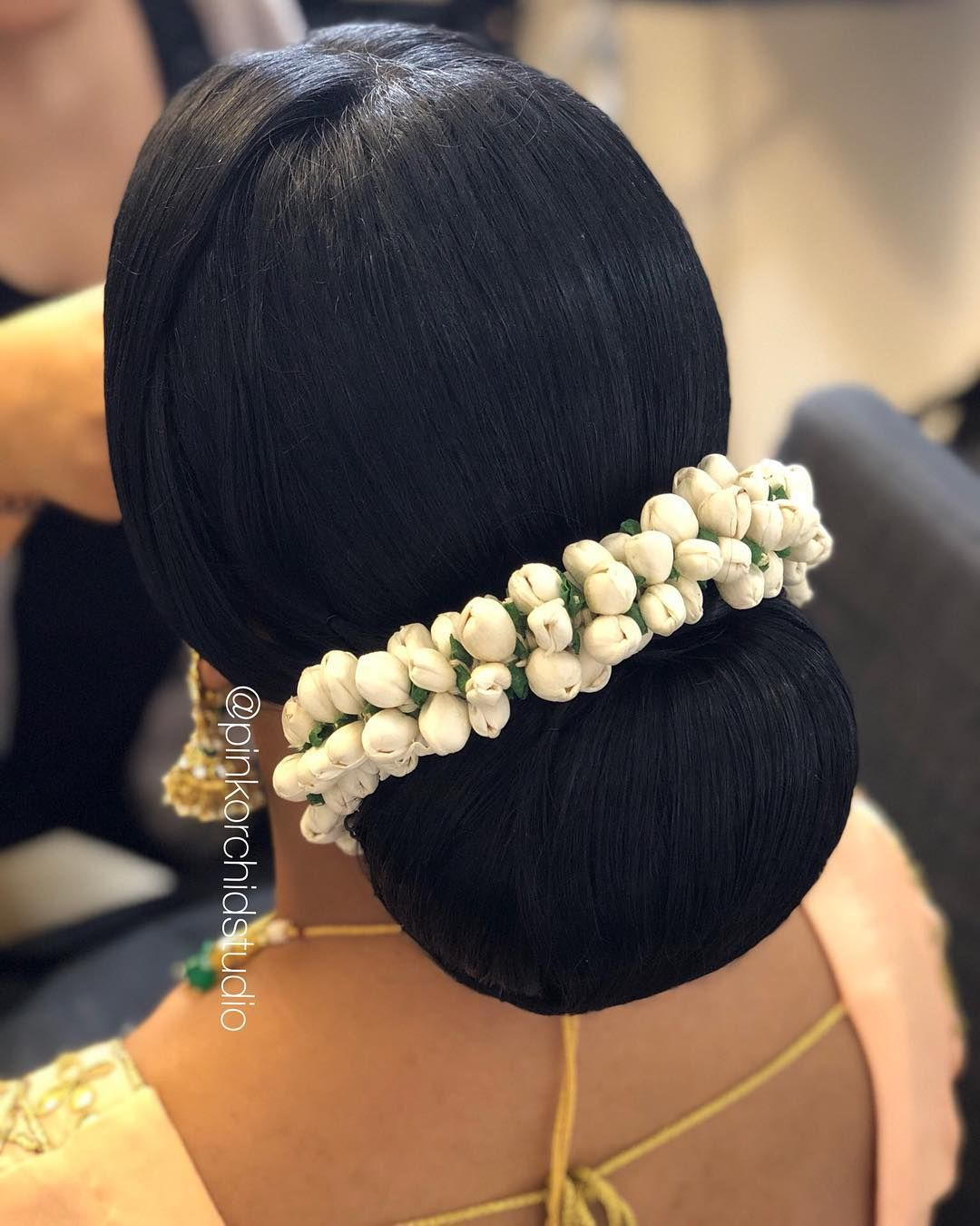 Hairstyle For Brothers Wedding: Client Ruby Glammed For Her Brothers Wedding. Artist