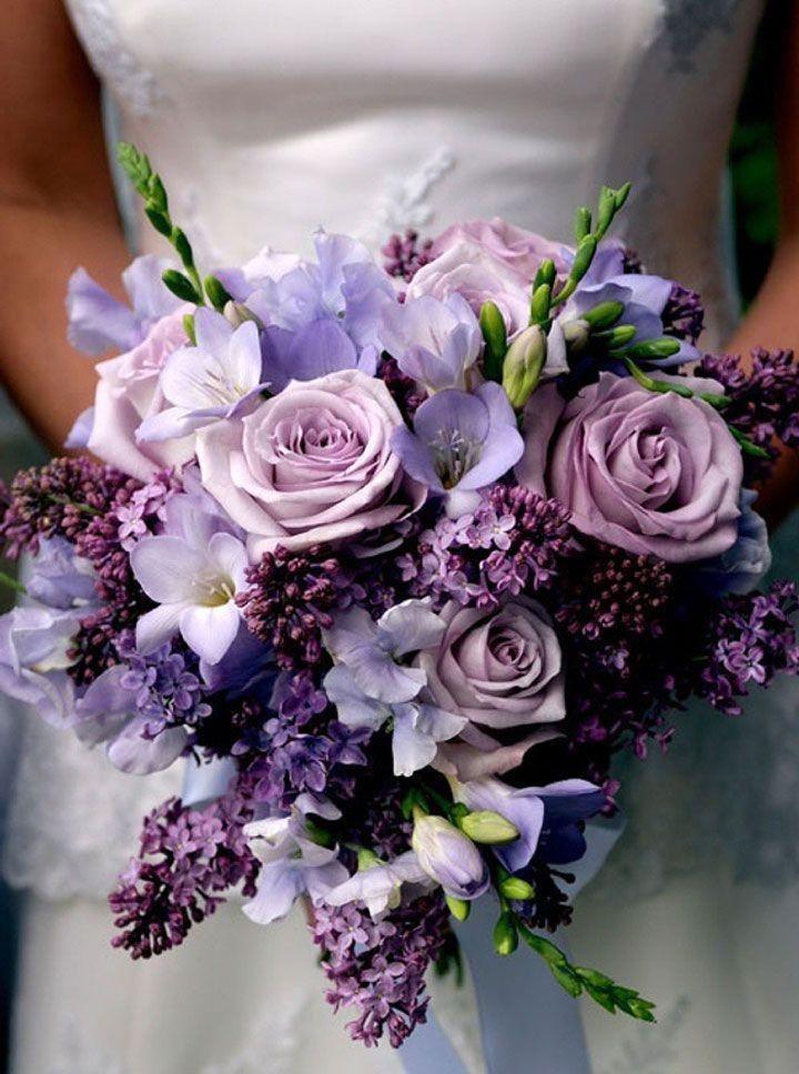 Wedding Ideas 20 Gorgeous Purple Wedding Bouquets Spring