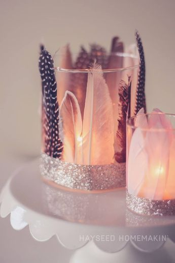 Mit diesen Ideen kannst du personalisierte Geschenke selber machen! #igers Kerzenglas Deko Idee selber machen - Geschenk für Freundin #personalisiertegeschenke