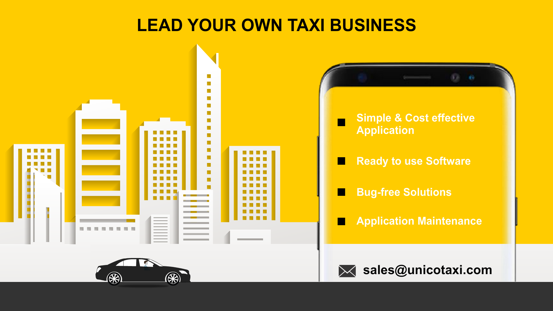 Elevate Your Taxi Business Through a mobile App.Make your