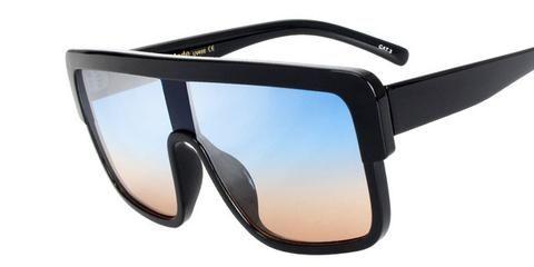 c18a29654d New Oversize Fashion Sunglasses Aviator Square Style Sunglasses For Men    Women