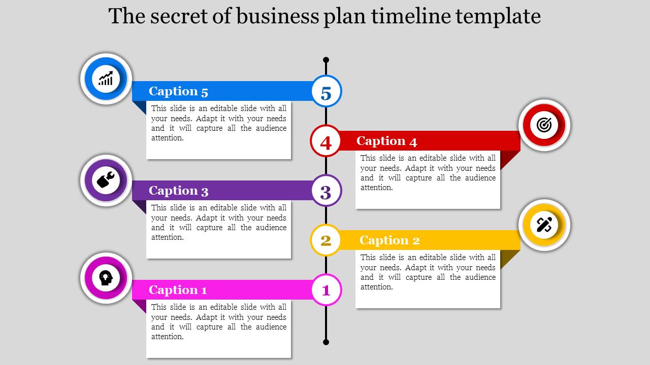 Conceptual Business Plan Timeline Template Best