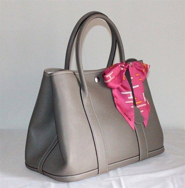 8686bce6db8 Hermes Garden Party Bag large sizes Gray H2808 - $218.00,Hermes ...