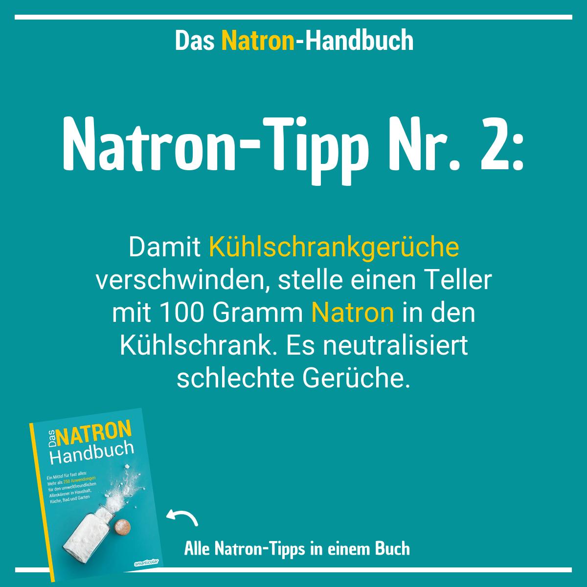 Natron ist eines der vielseitigsten Hausmittel und hilft unter anderem bei unangenehmen Gerüchen. #householdhacks