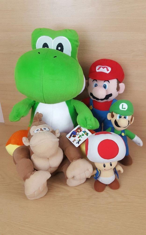 Nintendo Mario plush bundle