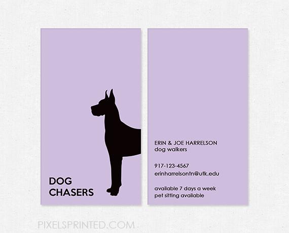 Dog walker business cards pet sitting pinterest pet hotel pet dog walker business cards pet sitter business cards dog grooming business cards pet colourmoves