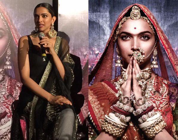 Deepika Padukone Talks About The Hype Around Her Unibrow In Padmavati Fansnstars Deepika Padukone Sanjay Leela Bhansali Unibrow