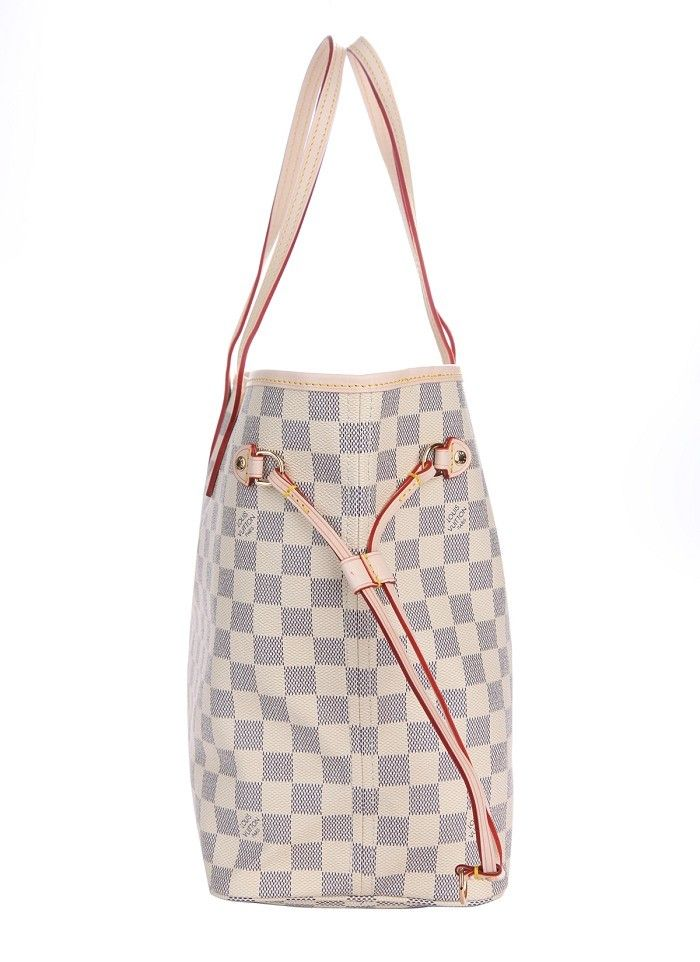 47b4810f92 Louis Vuitton Neverfull MM Damier Azur Canvas N51107 will come with the  authenticity card, serial