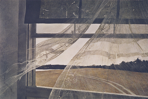 Wind from the Sea, 1947, Andrew Wyeth