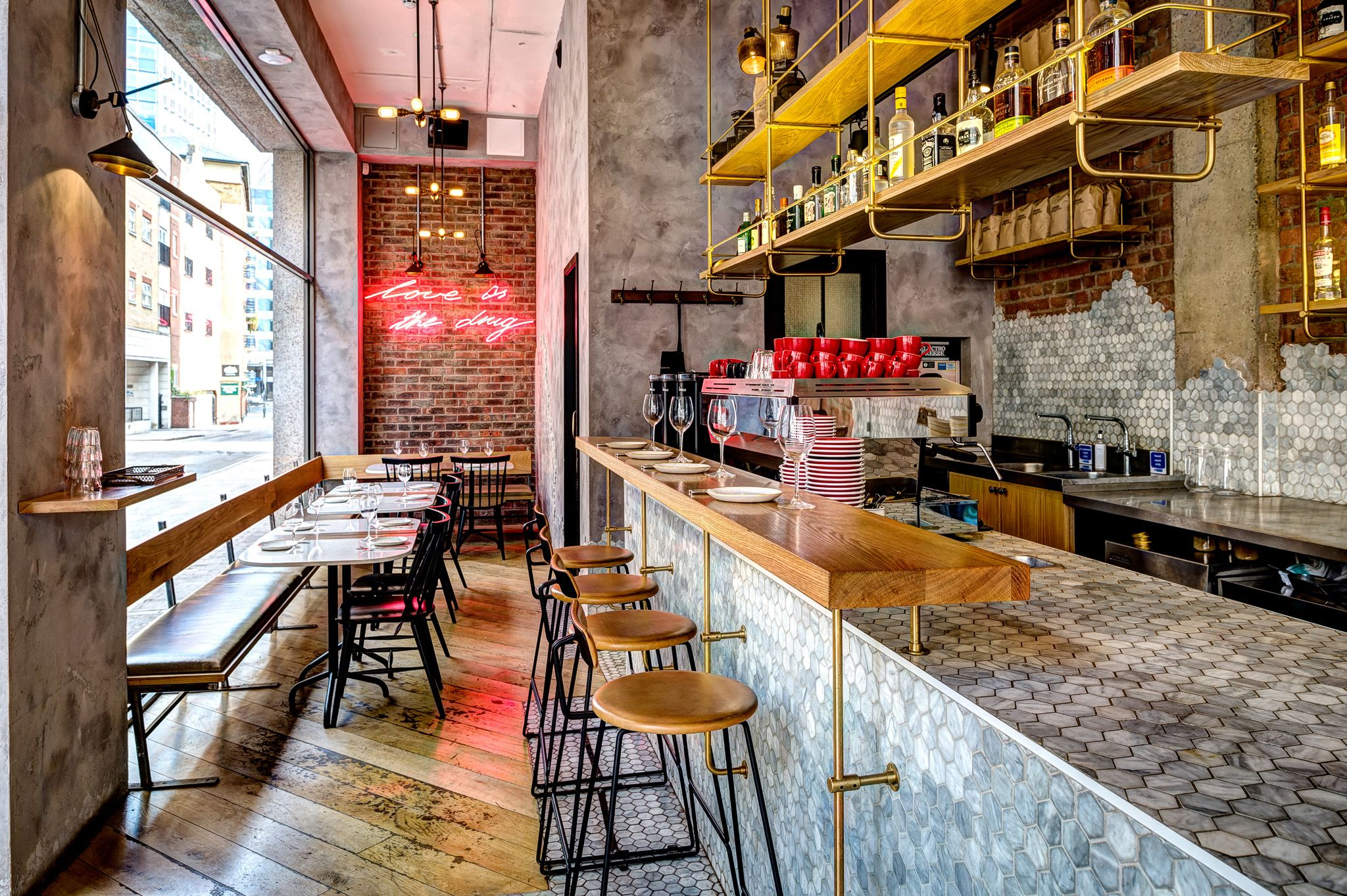Unique Ideas Of Restaurant Bar Design Ideas - Best Home Design Ideas ...