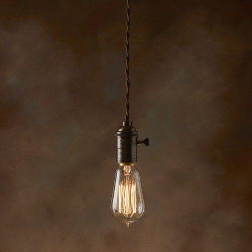 purelume™ vintage schwarz messing schmucklampe pendeleuchte, Hause deko