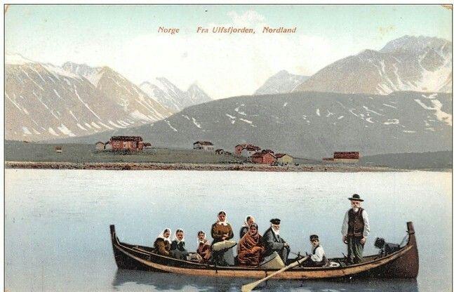 Troms fylke Lyngen kommune Ulfsfjorden utg Küenholdt brukt 1914
