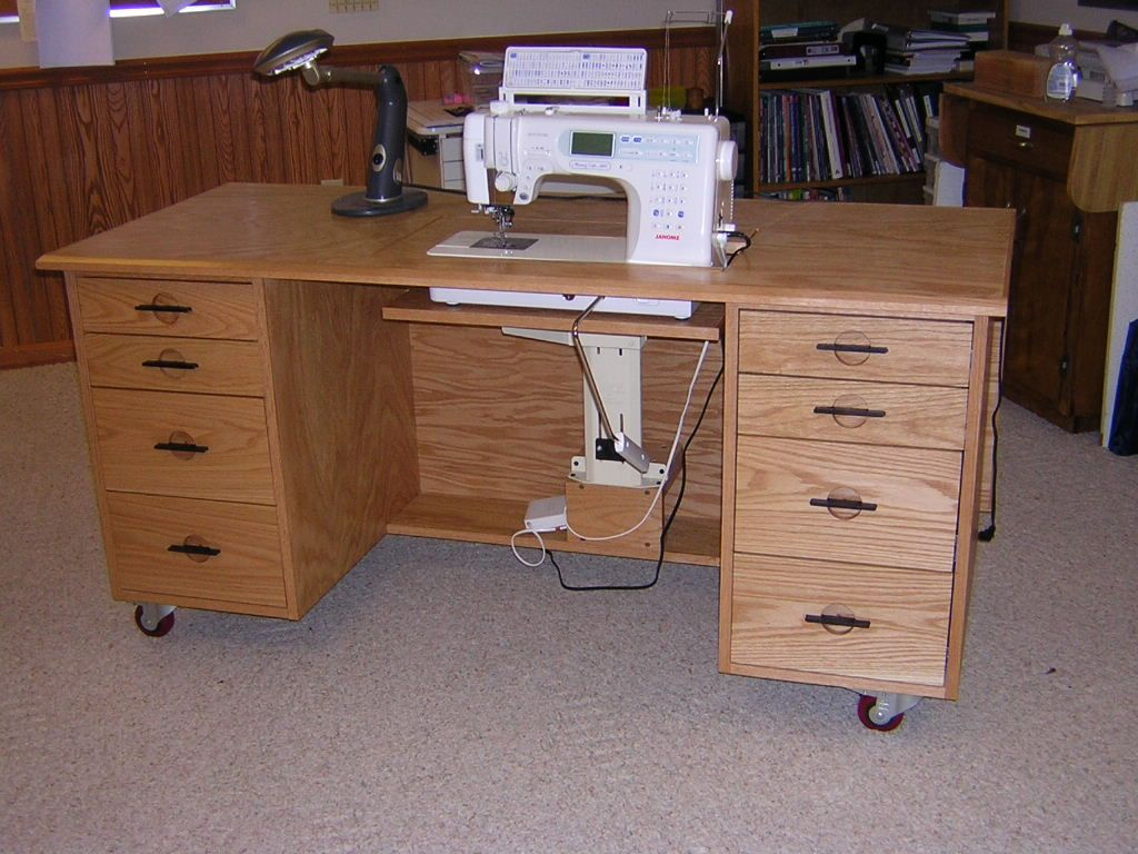 Up You Can Sewing Cabinets All Wood Machine And Tables