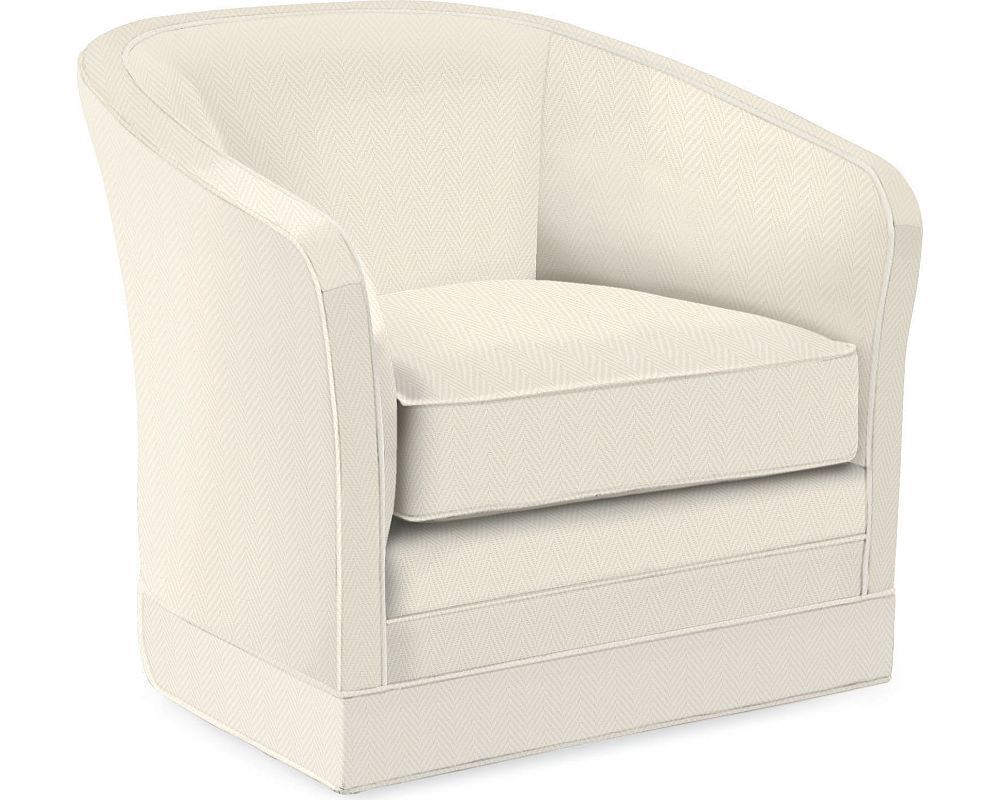 sutton swivel base chair | living room furniture | home decor