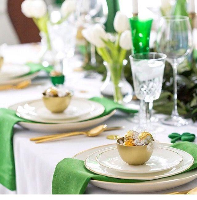 St.Patricks Day / Irish table setting - international day 2017 ...