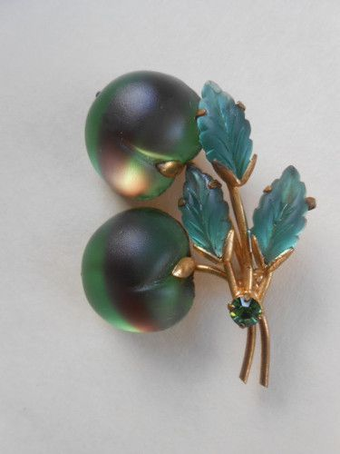Vintage Austrian Fruit Brooch