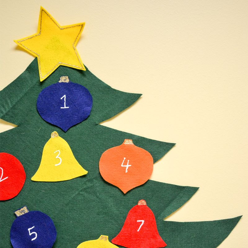 Cute holiday decorations - fun kids Christmas crafts - Countdown to ...