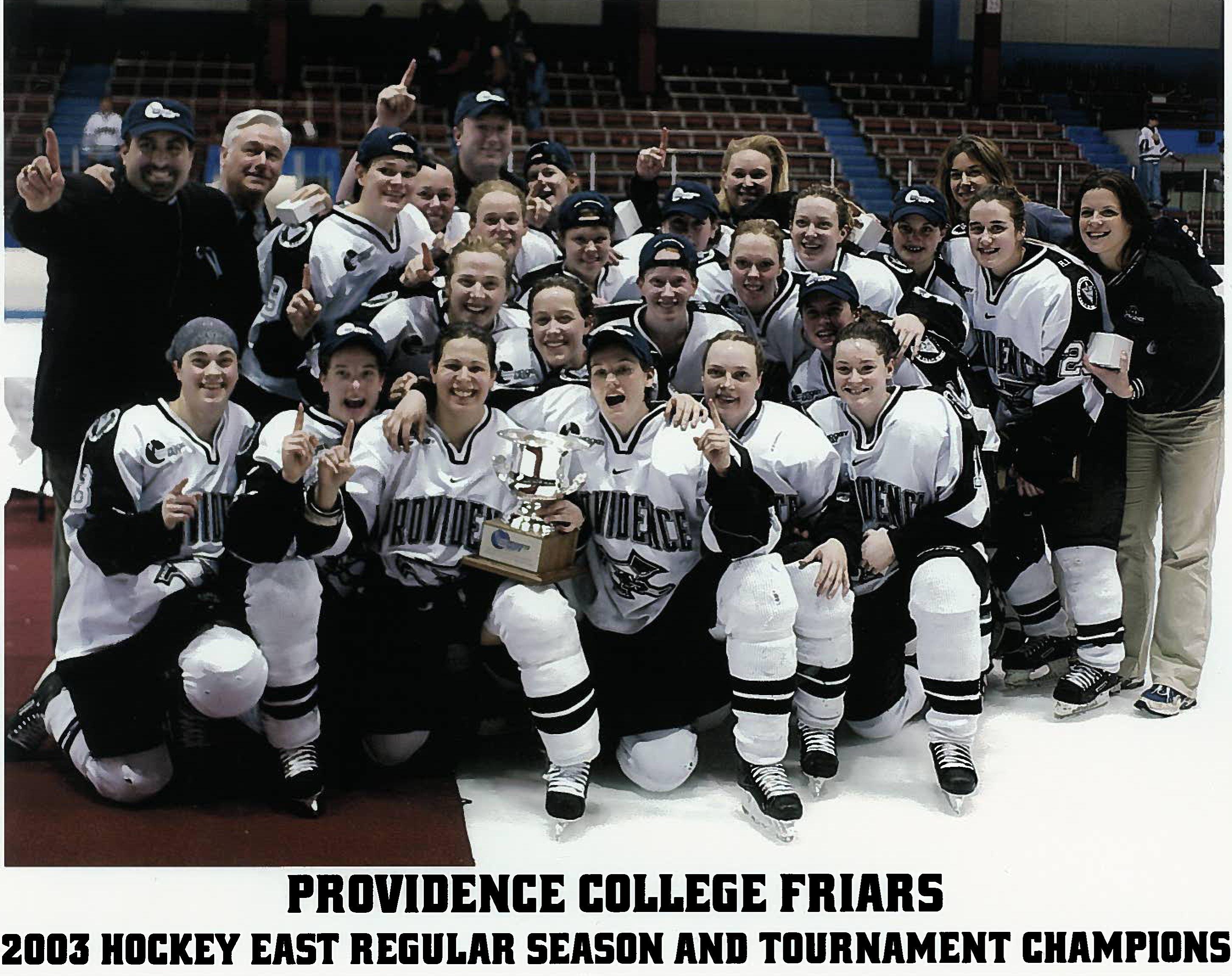 2003 Pc Women S Ice Hockey Team Becomes Hockey East Champs Ice Hockey Teams Hockey Teams Hockey