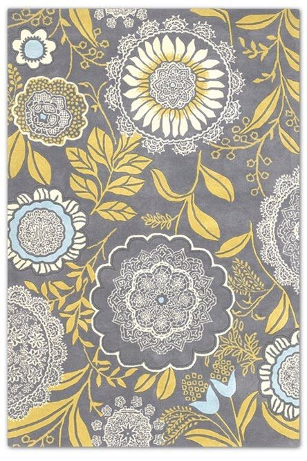 yellow and gray rug for living room pillow cases amy butler fabric favorite 2 pattern play rugs wool theme