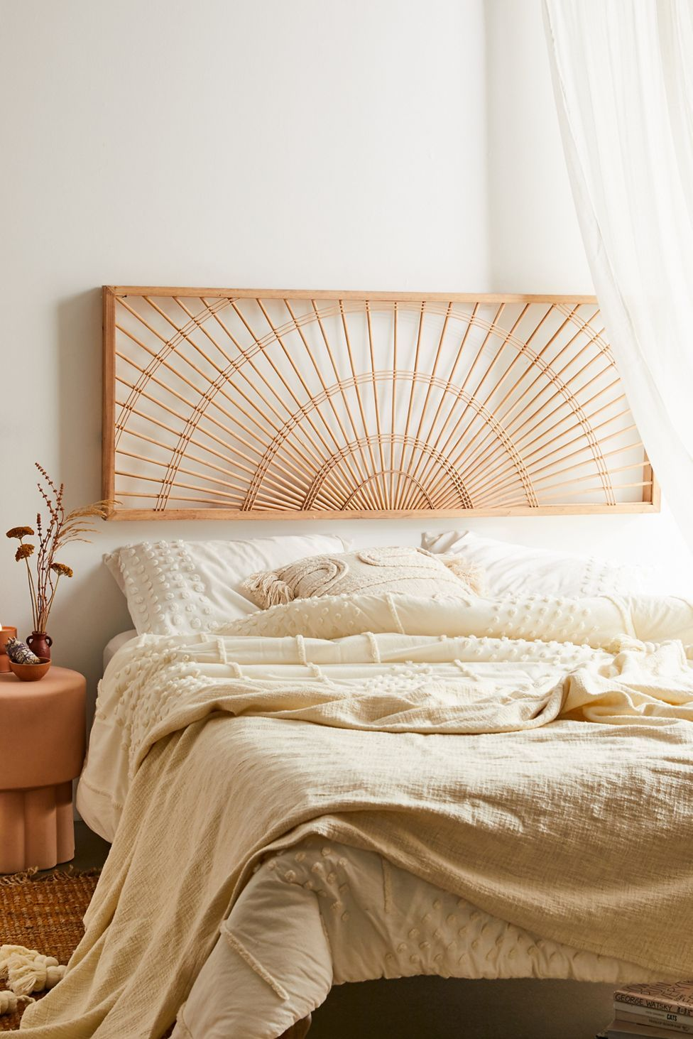 Sol Wooden Headboard   Urban Outfitters   Bed frame and headboard ...