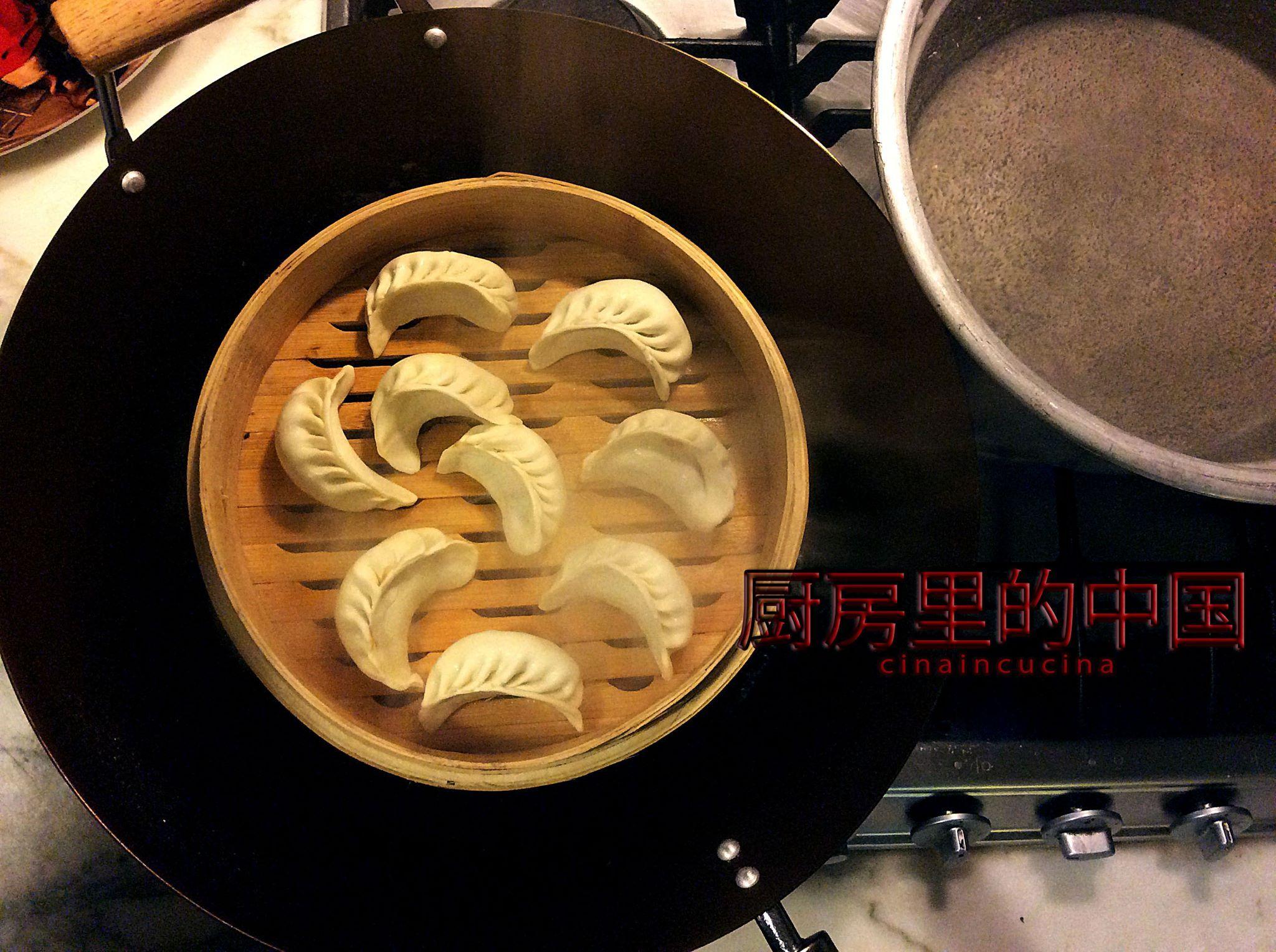 Dumplings with vegetables!!! www.cinaincucina.it Ravioli ...